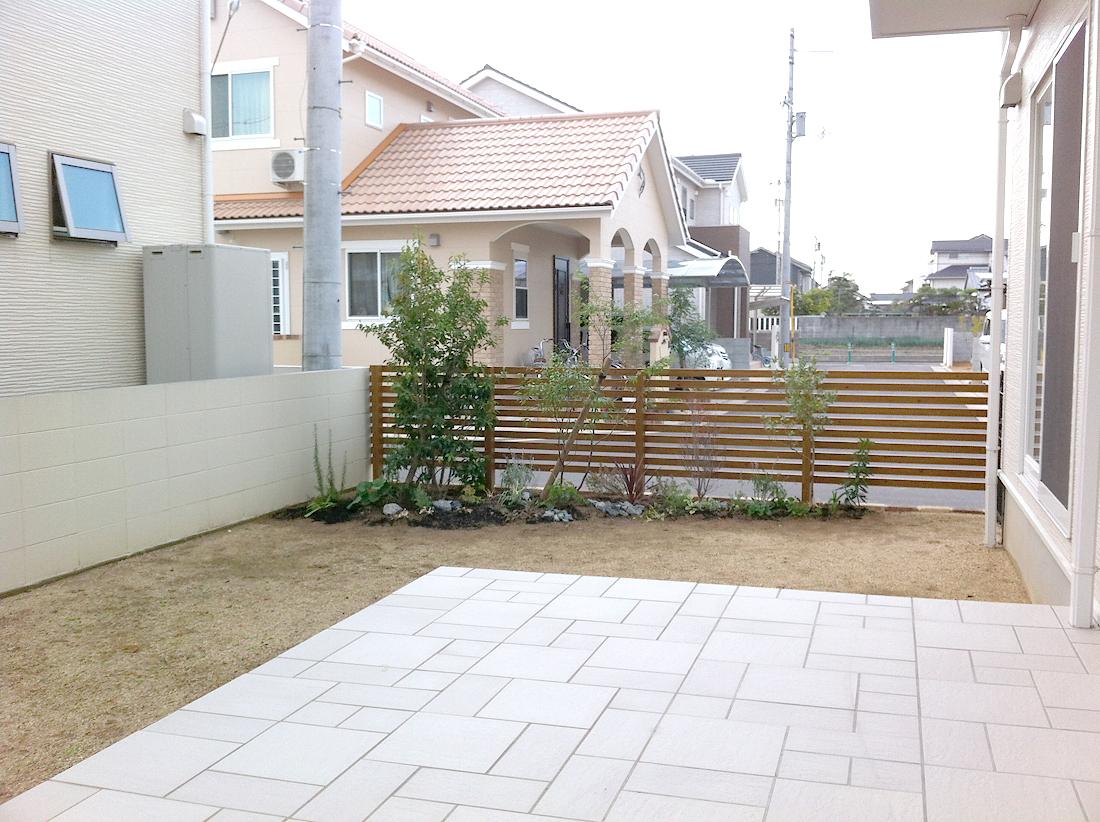 ガーデン工事 007